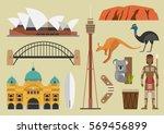 australia flat illustration ...