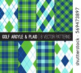 Golf Style Argyle And Tartan...
