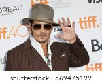 Actor Johnny Depp Attends 'the...