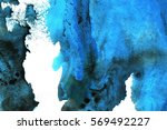 abstract ink background. marble ... | Shutterstock . vector #569492227