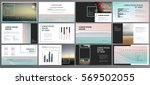 presentation templates. use in... | Shutterstock .eps vector #569502055