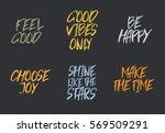 vector inspirational quote... | Shutterstock .eps vector #569509291