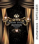 vip elegant luxury event... | Shutterstock .eps vector #569511835
