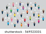 vector illustration of an... | Shutterstock .eps vector #569523331