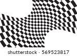 checkered flag. racing flag...   Shutterstock .eps vector #569523817
