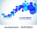Abstract Blue Background With...