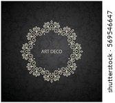 vector coasters for paper... | Shutterstock .eps vector #569546647