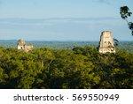 pyramid in tikal  guatemala ... | Shutterstock . vector #569550949