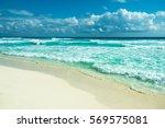Cancun Beach Panorama  Mexico