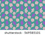 aloha hawaii  luau party... | Shutterstock . vector #569585101