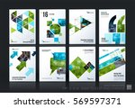 business vector template mega... | Shutterstock .eps vector #569597371