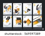 business vector template mega... | Shutterstock .eps vector #569597389