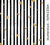 black and white striped pattern ... | Shutterstock .eps vector #569613364