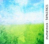 natural spring background | Shutterstock . vector #569615821
