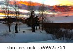 sunset in colorado   Shutterstock . vector #569625751