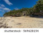 beach in tongatapu | Shutterstock . vector #569628154