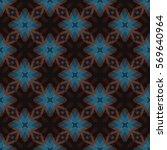 the geometric texture. boho... | Shutterstock .eps vector #569640964