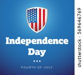 independence day usa   fourth... | Shutterstock .eps vector #569646769