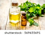 organic cosmetics with herbal... | Shutterstock . vector #569655691