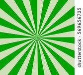 retro rays green background | Shutterstock .eps vector #569656735