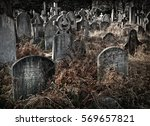 Old Spooky Crowded Graveyard I...