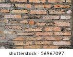 brick wall texture | Shutterstock . vector #56967097