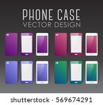 set of covers and backgrounds... | Shutterstock .eps vector #569674291