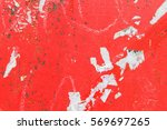 concrete wall in red | Shutterstock . vector #569697265