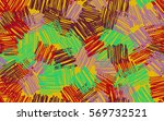 seamless pattern. casually... | Shutterstock .eps vector #569732521
