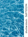 surface of swimming pool water... | Shutterstock . vector #569735194
