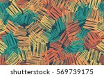 seamless pattern. casually... | Shutterstock .eps vector #569739175