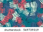 seamless pattern. casually... | Shutterstock .eps vector #569739319