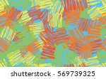 seamless pattern. casually... | Shutterstock .eps vector #569739325