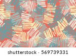 seamless pattern. casually... | Shutterstock .eps vector #569739331