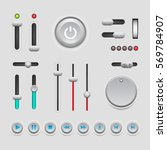 web ui elements design. user...