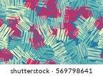 seamless pattern. casually... | Shutterstock .eps vector #569798641