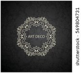 vector coasters for paper... | Shutterstock .eps vector #569804731