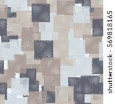 seamless pattern. stylized... | Shutterstock .eps vector #569818165