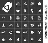 ecology and alternative energy... | Shutterstock .eps vector #569888941