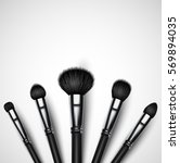vector illustration of set of... | Shutterstock .eps vector #569894035