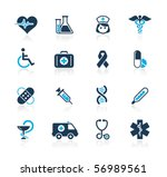 medicine   heath care    azure... | Shutterstock .eps vector #56989561