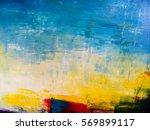 Painted Canvas Texture. Colors...