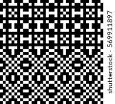 vector seamless pattern.... | Shutterstock .eps vector #569911897