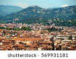 florence  view from the... | Shutterstock . vector #569931181