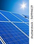 renewable  alternative solar... | Shutterstock . vector #56994619