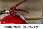 fire extinguishers available. | Shutterstock . vector #569957125