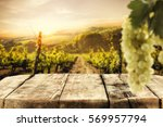 table background and free space ... | Shutterstock . vector #569957794