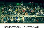 blurred background of crowd of... | Shutterstock . vector #569967631