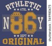 new york brooklyn sport...   Shutterstock .eps vector #569980675