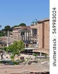 rome  | Shutterstock . vector #569983024